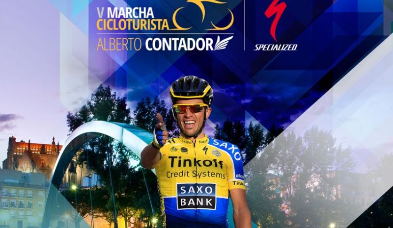 Torrejoncillanos en la V Marcha Alberto Contador