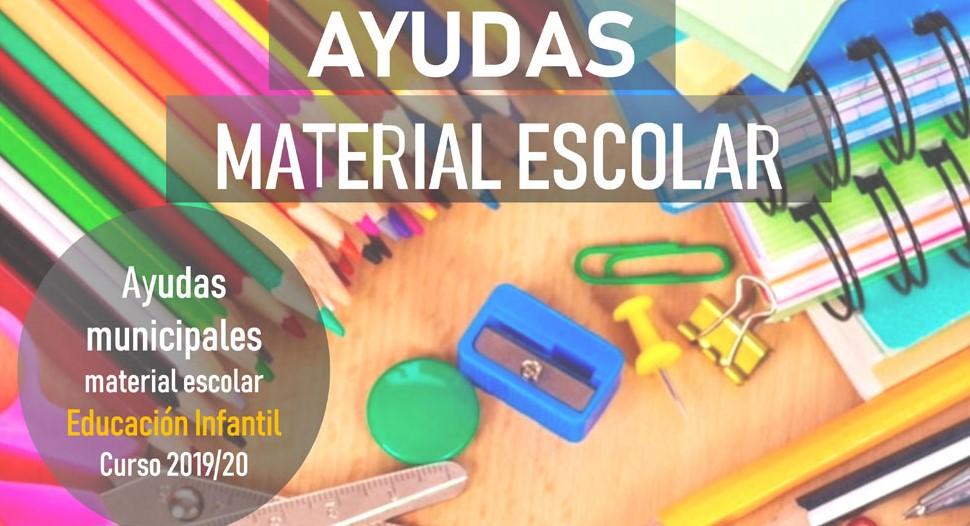 AYUDAS MUNICIPALES PARA LIBROS DE TEXTOS Y MATERIAL ESCOLAR PARA EDUCACIÓN INFANTIL
