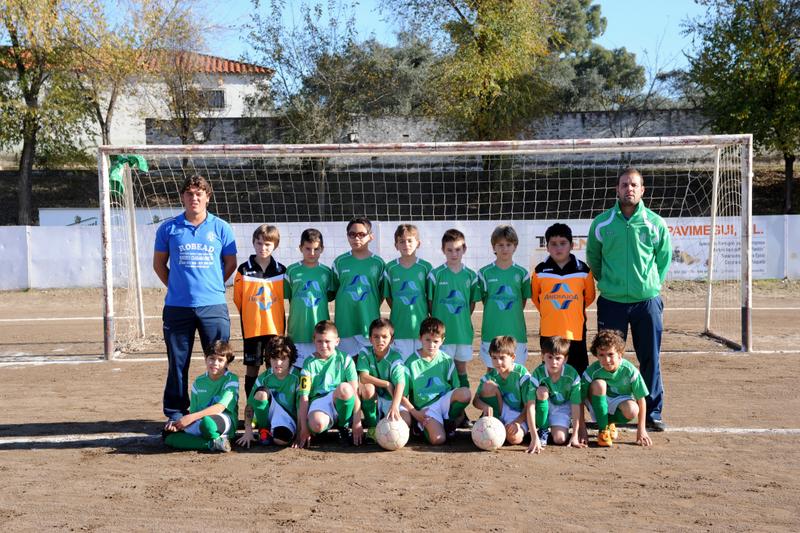 Los cuatro benjamines torrejoncillanos quedan terceros de grupo en el Campeonato de España de Fútbol Sala