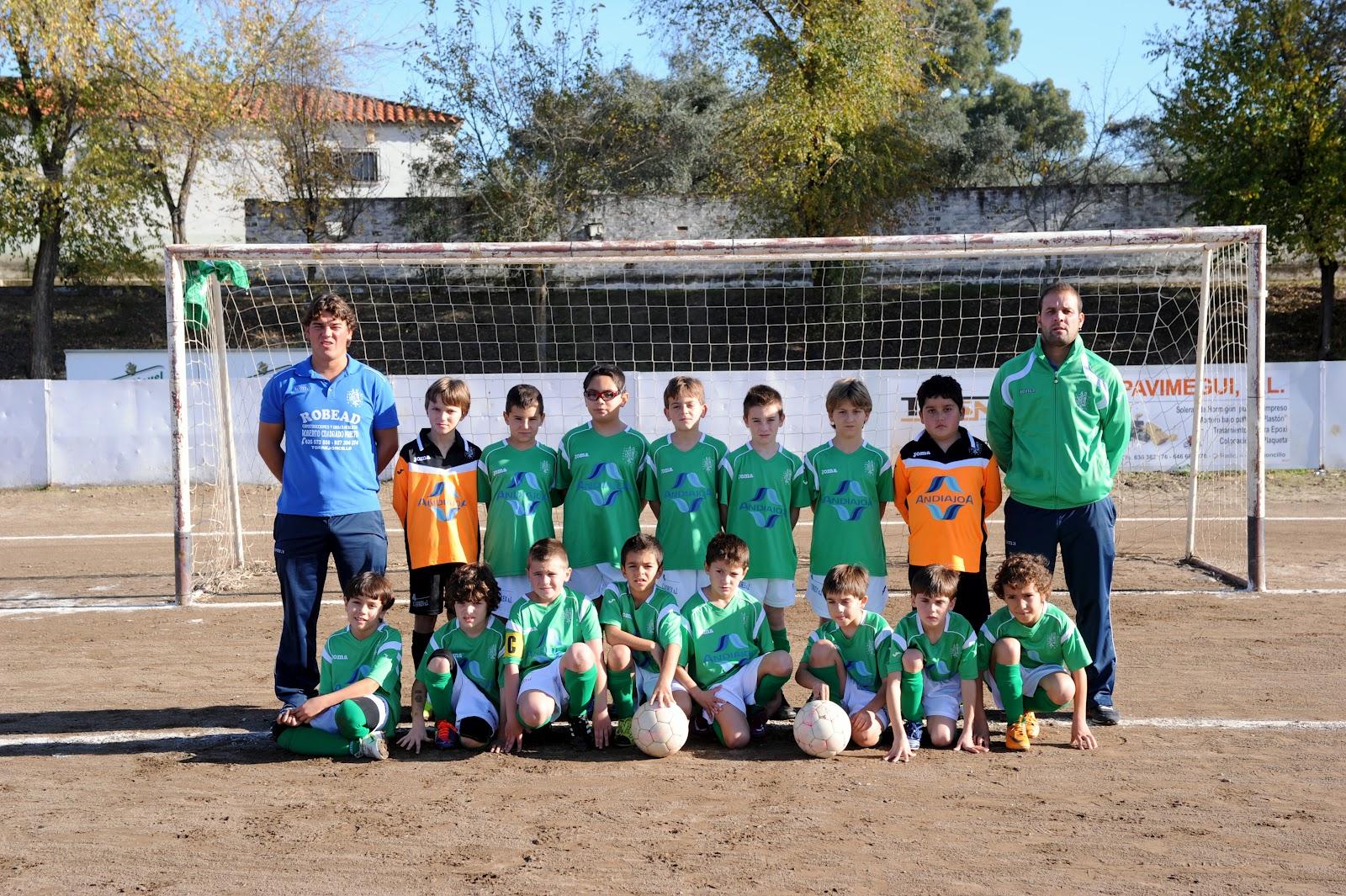 Las categorías Alevines del AD Torrejoncillo acabaron sus competiciones con muy buen resultado en la tabla