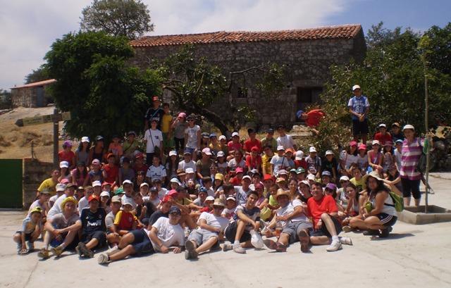 El Campamento «Nazaret» de Cáritas cumple su XXV Aniversario en Villamiel