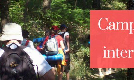 Convocatoria de Campamentos e Intercambios Verano 2018