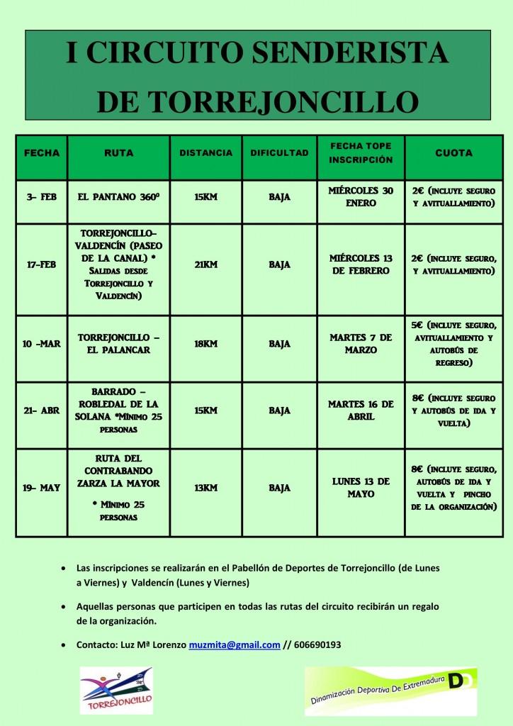 cartel I CIRCUITO SENDERISTA DE TORREJONCILLO-page-001
