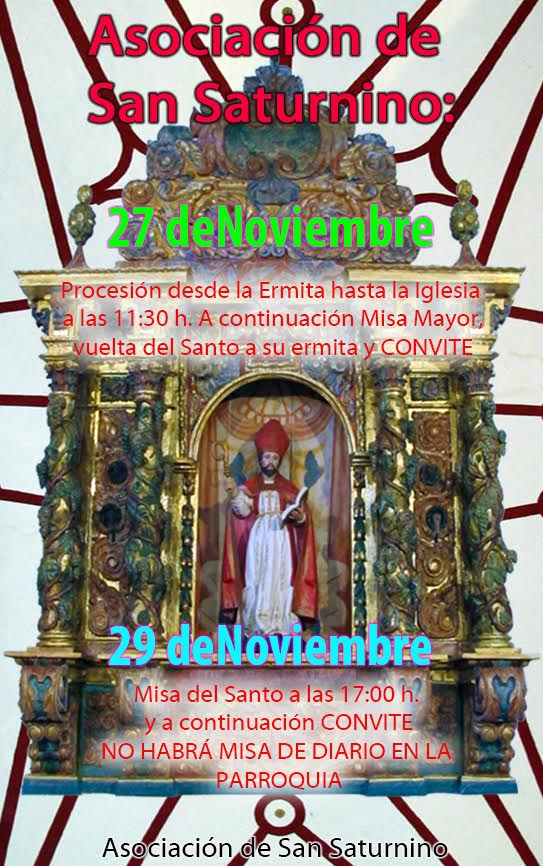 Fiestas en honor de San Saturnino