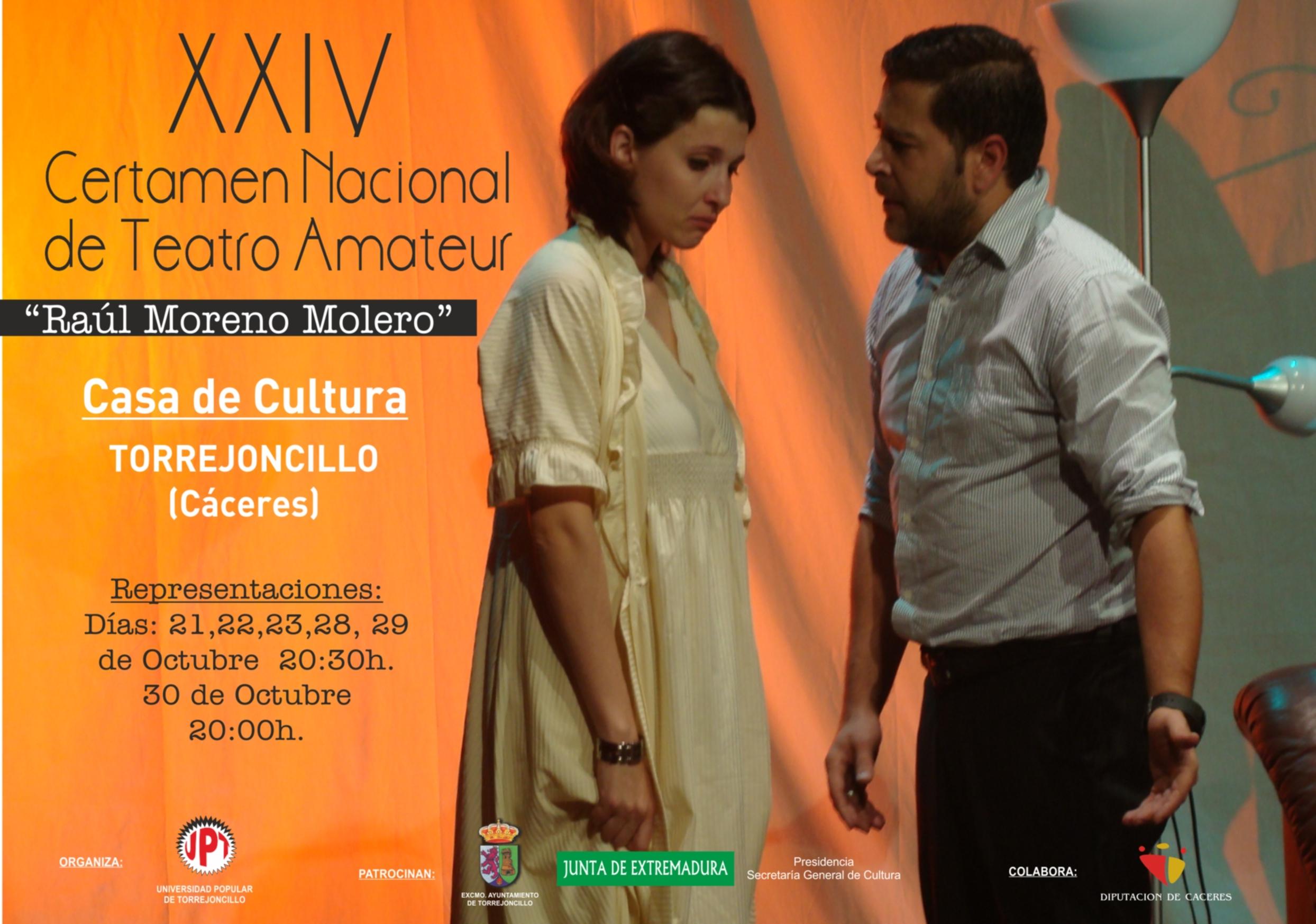 XXIV Certamen Nacional de Teatro «Raúl Moreno Molero»
