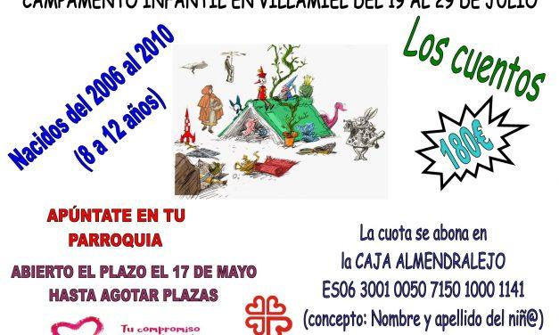 Acampada y Campamento de Villamiel 2018