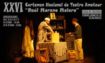 XXVI Certamen Nacional de Teatro Amateur «Raúl Moreno Molero»