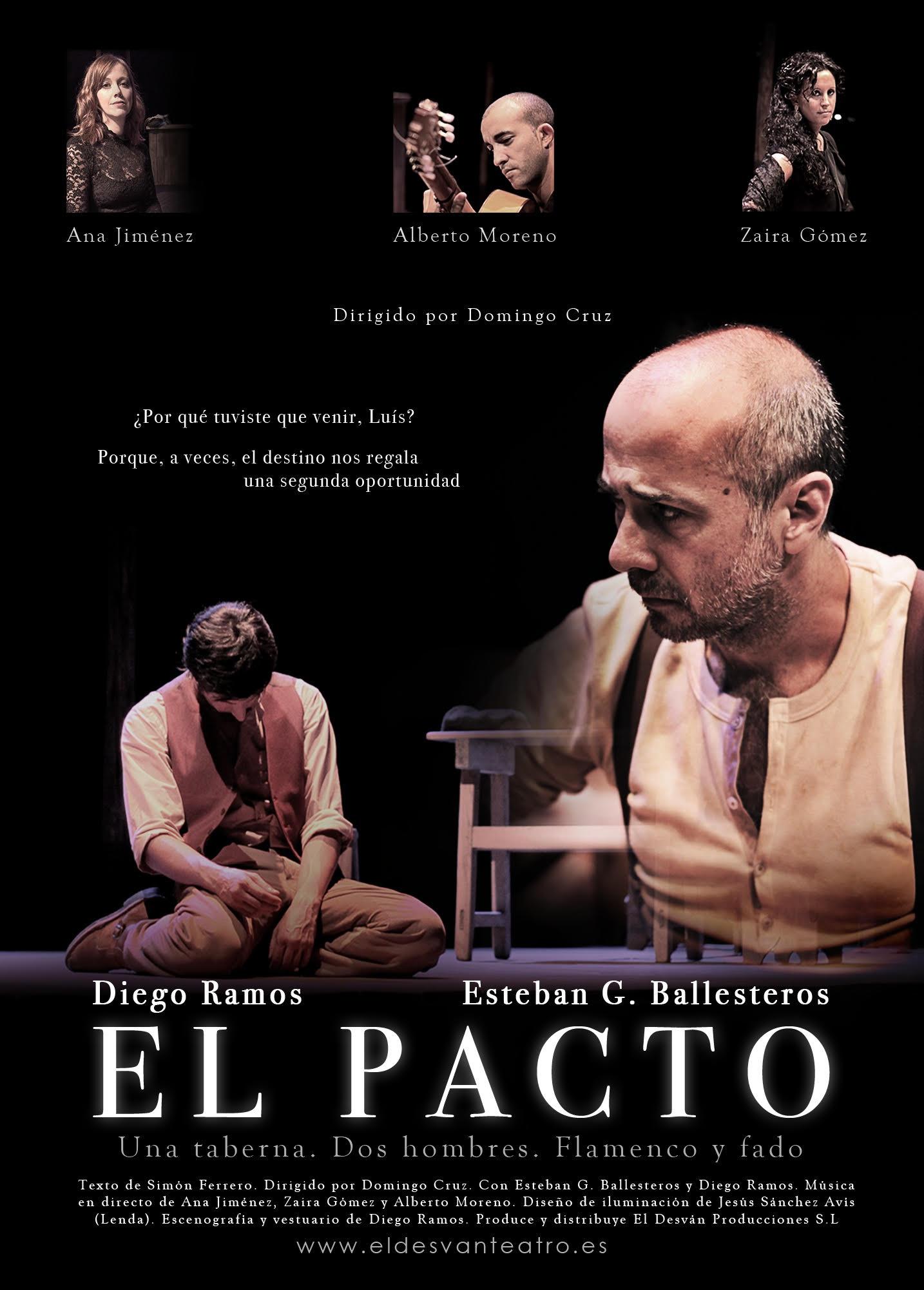 EL DESVÁN TEATRO, CON LA OBRA «EL PACTO»