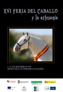 cartel feria del caballo de torrejoncillo 2013