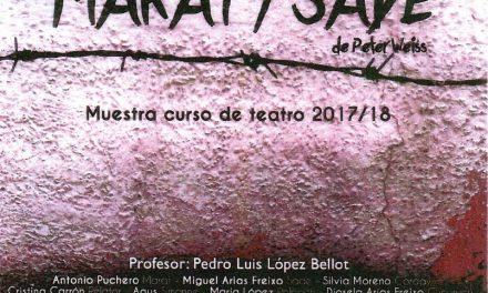 Marat-Sade por los alumnos del Curso de Teatro 2017/2018
