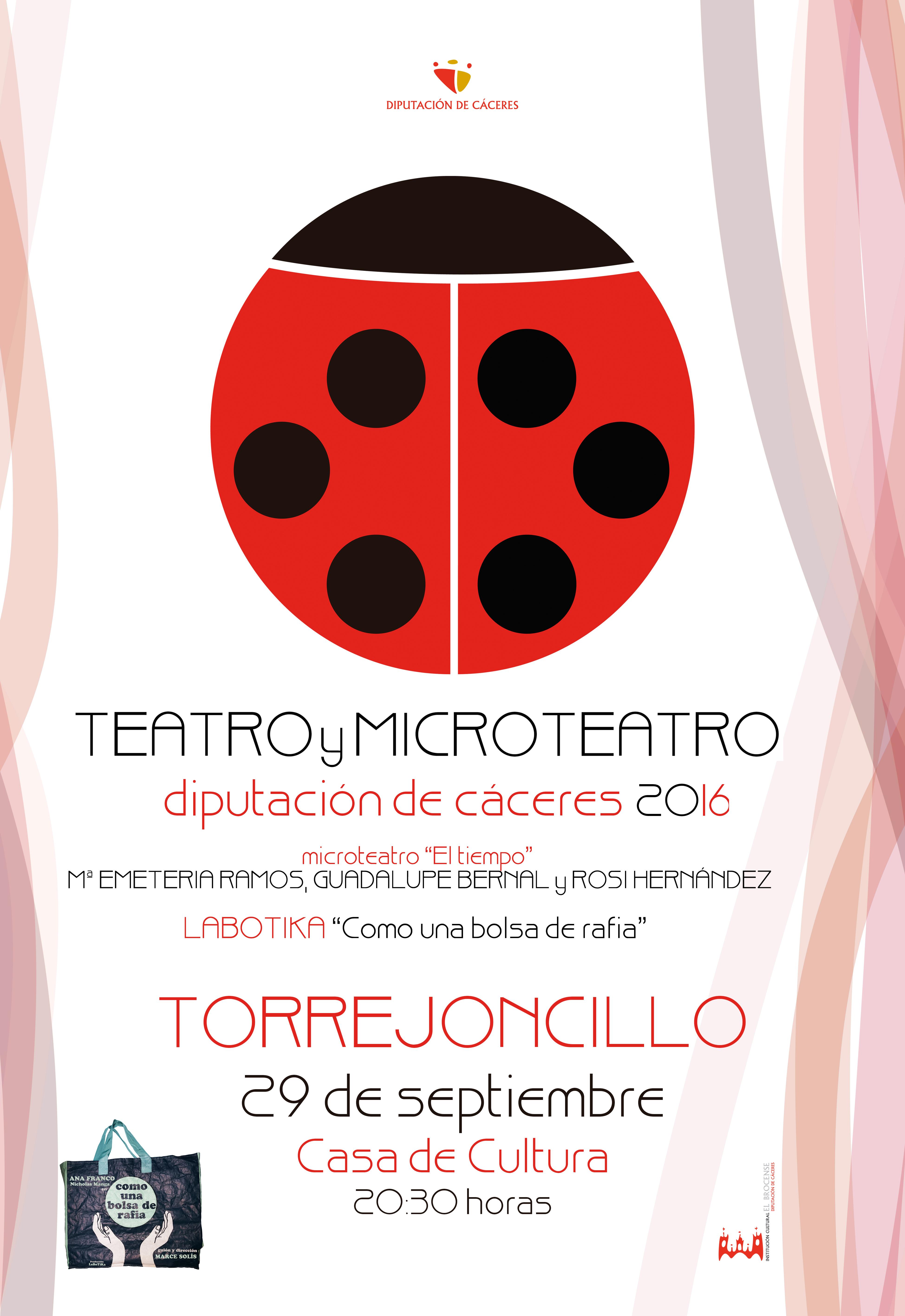 Teatro y Microteatro hoy en la Casa de Cultura