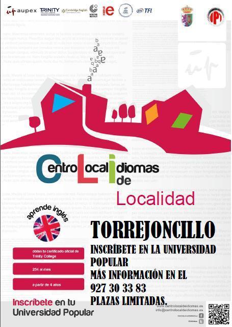 Abierto plazo matricula Centro Local de Idiomas, en la UPT