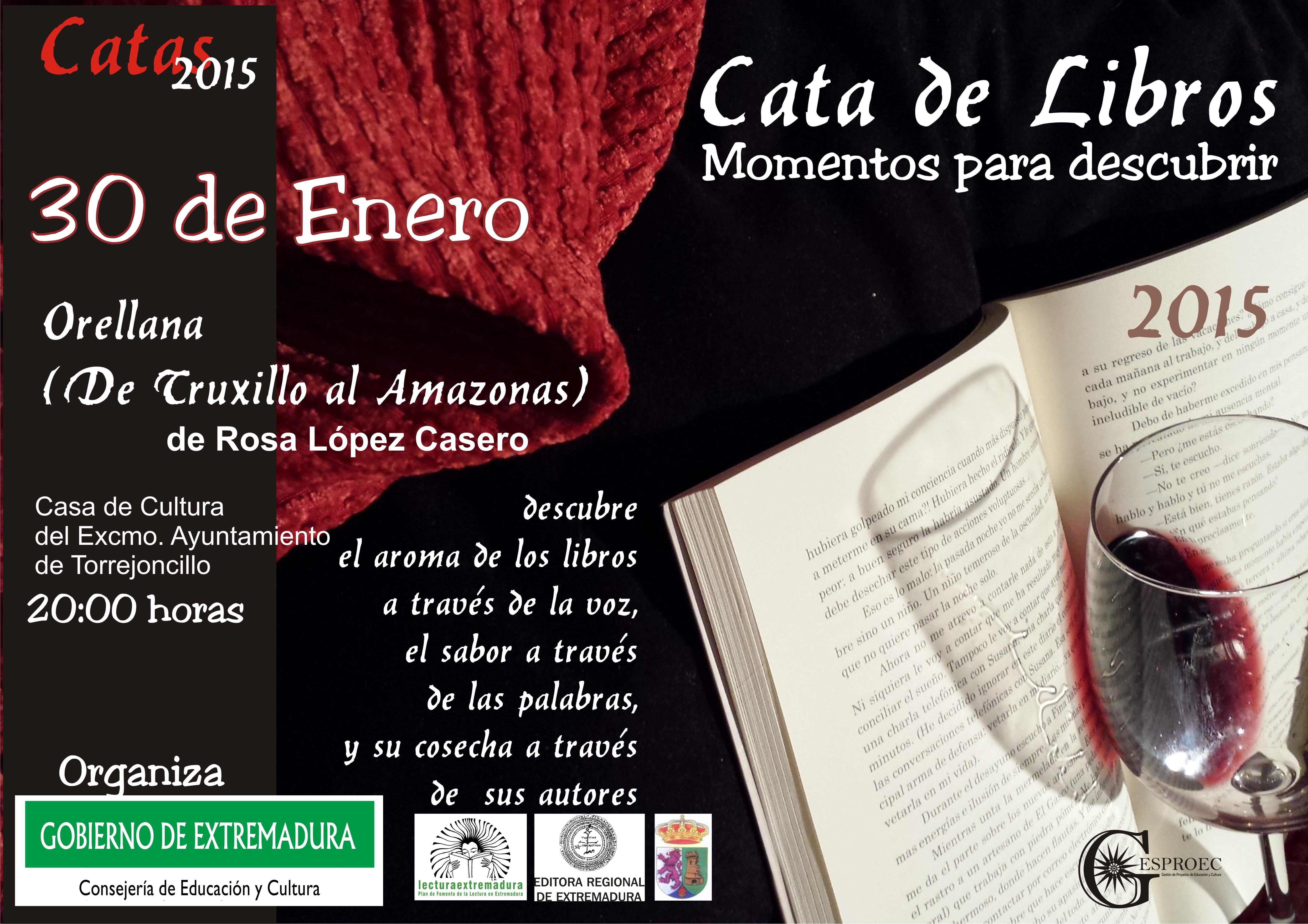 Teatro  «Cata de Libros», Orellana (de Truxillos al Amazonas)