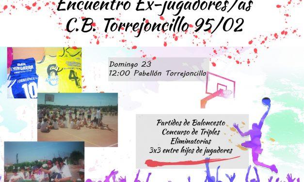 Encuentro Ex-Jugadores/as del Club Baloncesto de Torrejoncillo