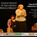 Comienza el XXVII Certamen  Nacional de Teatro Amateur «Raúl Moreno Molero»