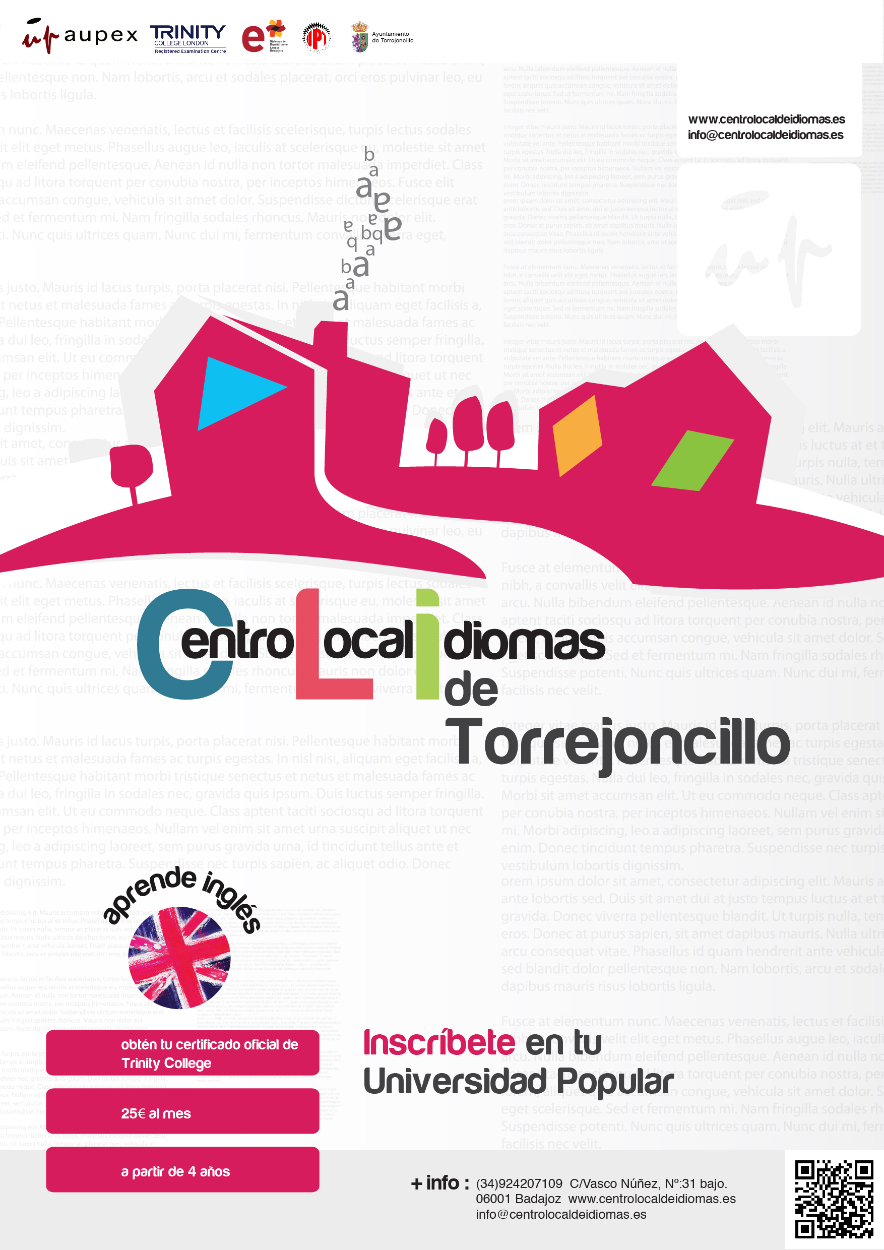 Centro Local de Idiomas en Torrejoncillo