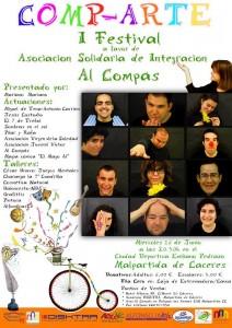 """Cartel Oficial del evento - ASOCIACIÓN """"EL COMPÁS"""""""