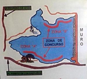 Croquis del pantano de Pedroso de Acim - CEDIDA