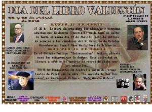 dia del libro en Valdencín