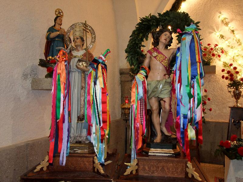 Santos Mártires de Portezuelo, San Fabián y San Sebatián