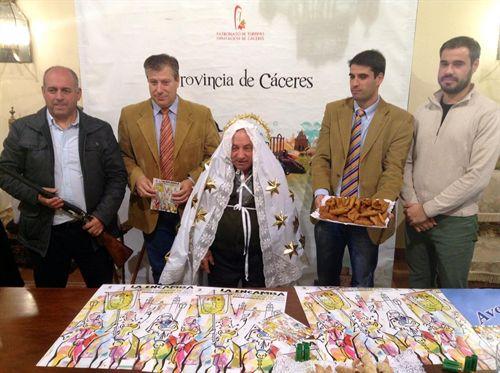 «La Encamisá» de Torrejoncillo reunirá a 250 jinetes y 150 escopeteros en honor a su patrona.