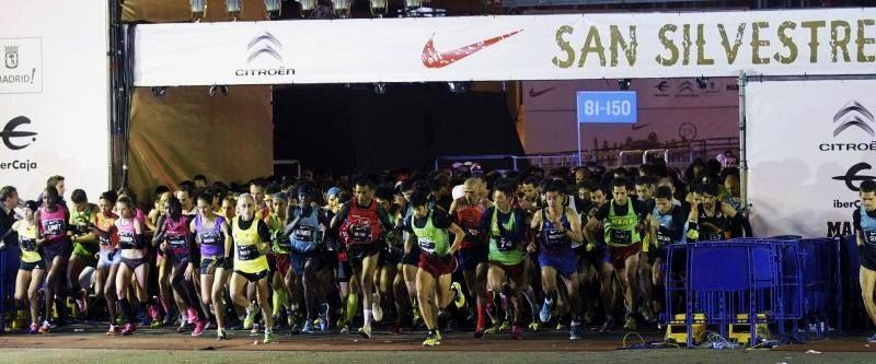 Mario Mirabel debutó en la histórica San Silvestre Vallecana