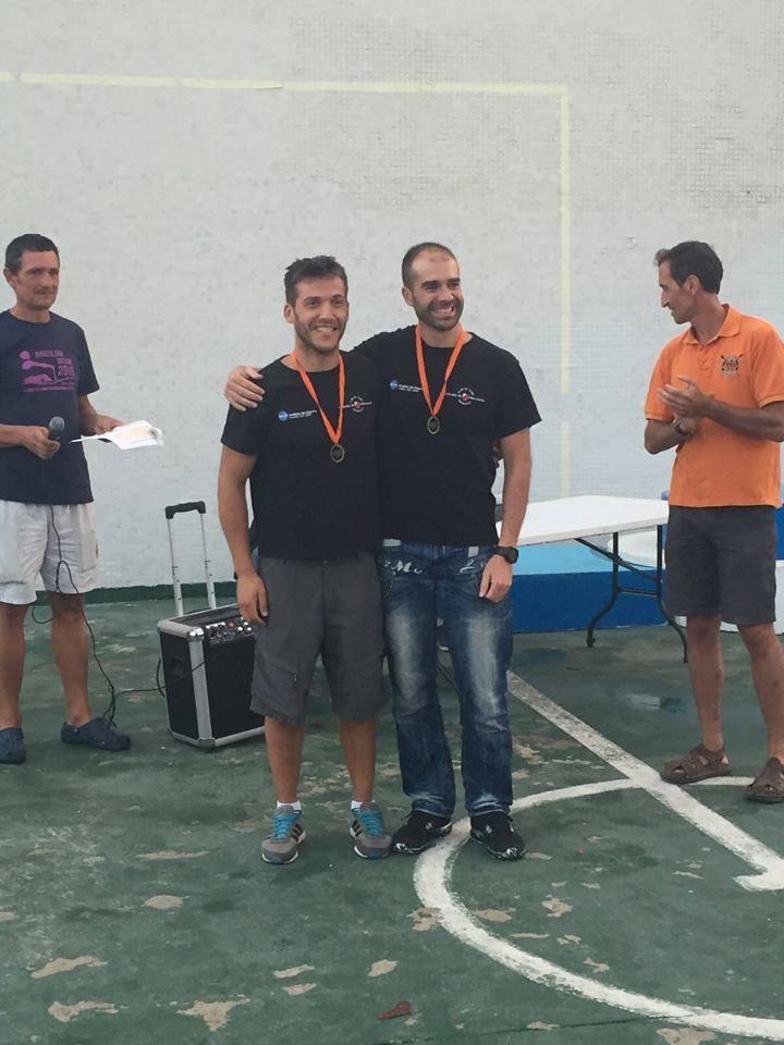 El torrejoncillano Fran Llanos junto a Javi Ferrer ganan en Barcelona
