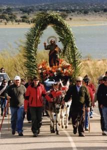 El santo llegando al Ejido de San Pedro - ÁNGEL LUIS HERNÁNDEZ