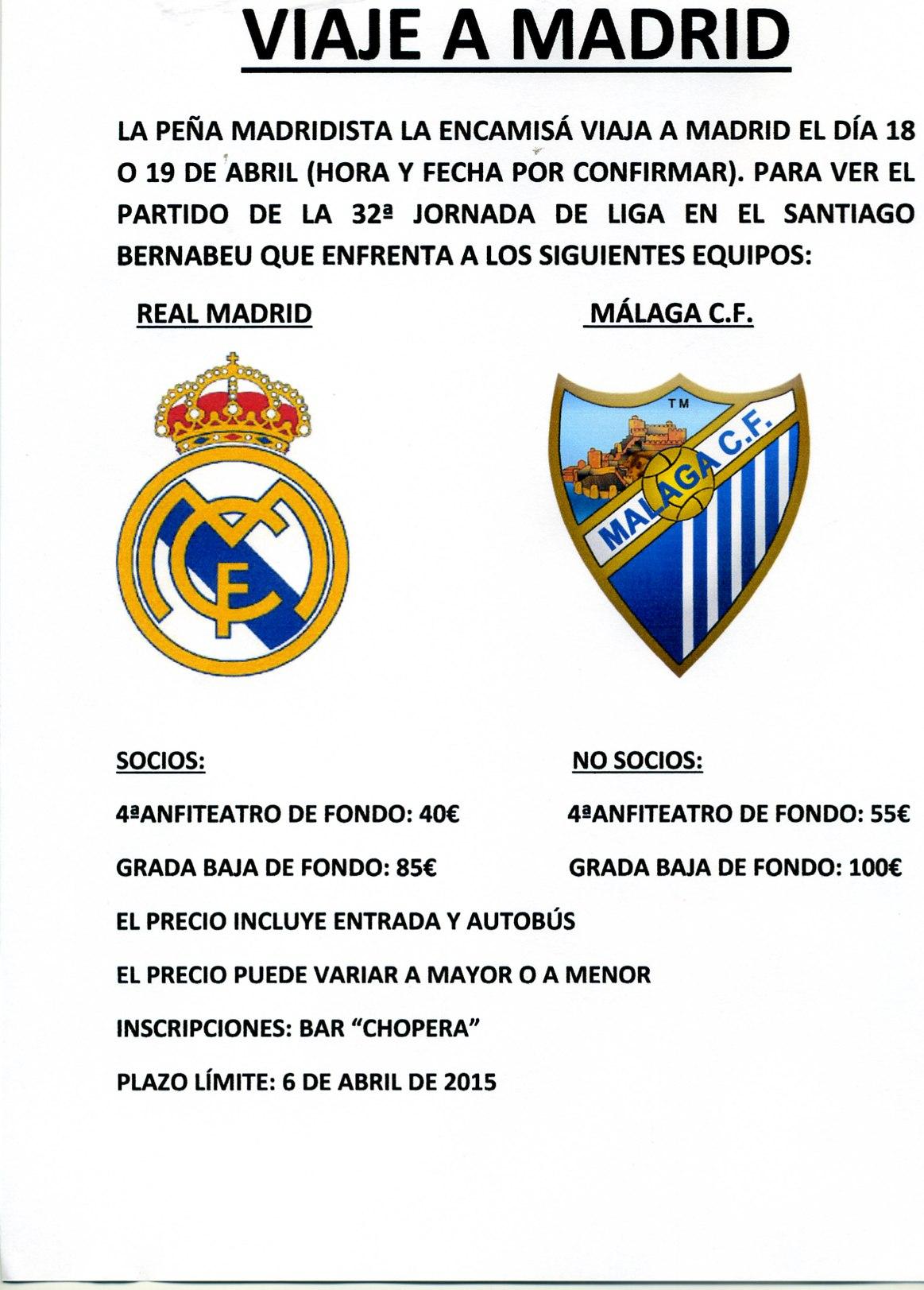 Peña Madridista La Encamisá