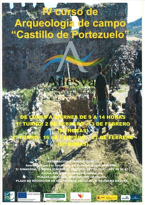 IV Curso de Arqueología de Campo «Castillo de Portezuelo»
