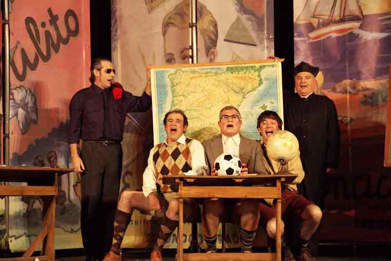 Representación teatral celebrando el Día del Libro. «La Escuela de Don Ponciano»
