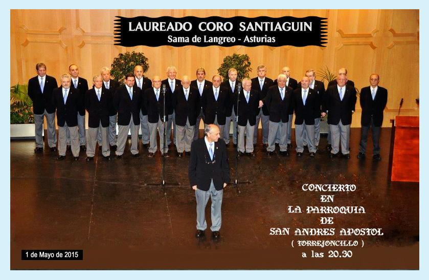 Concierto del Laureado Coro Santiaguín