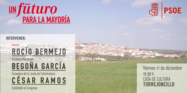 Acto de Campaña del PSOE de Torrejoncillo