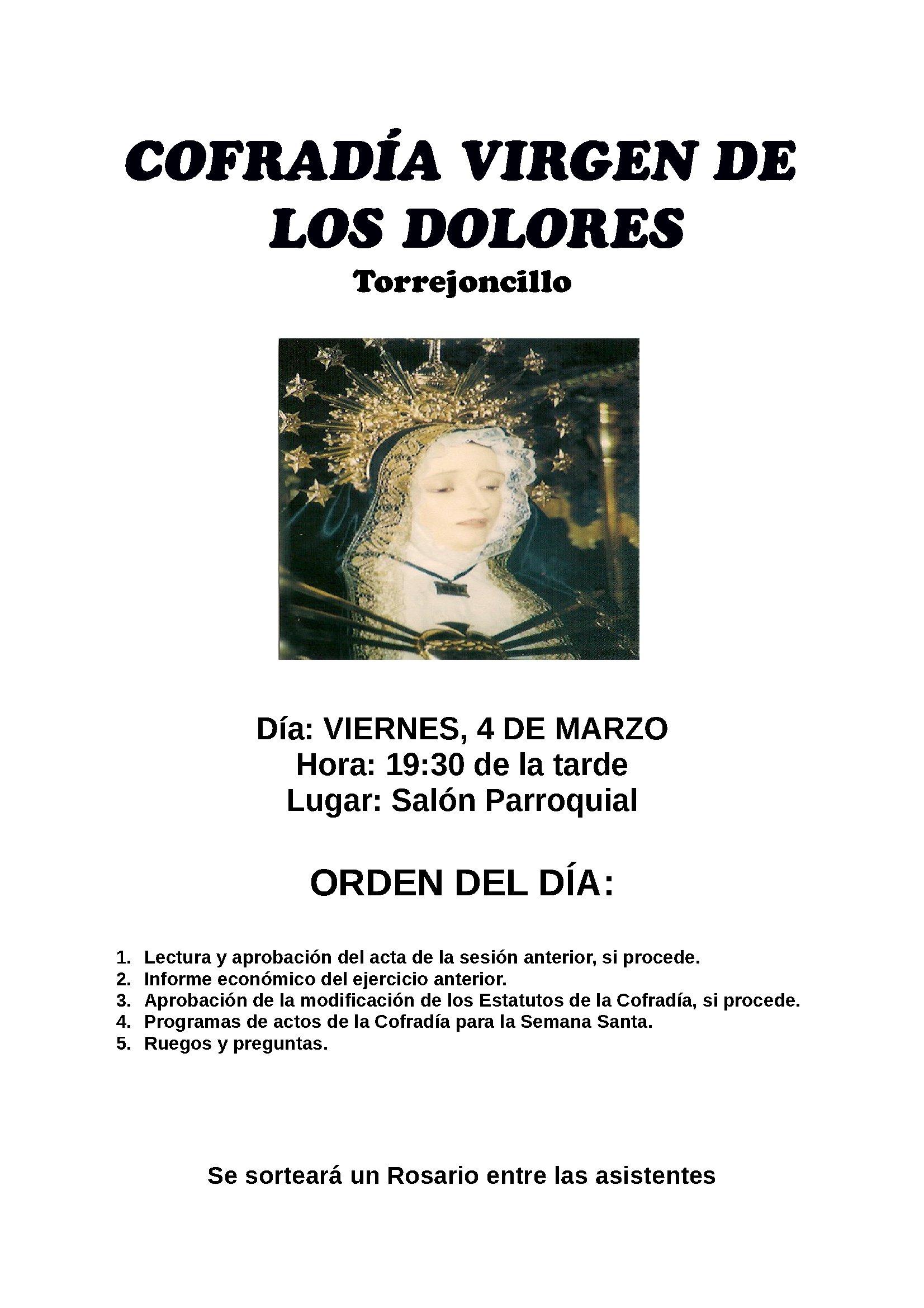 Asamblea Virgen de los Dolores