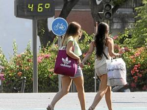 Las altas temperaturas asolan Extremadura en los últimos días - CEDIDA