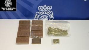 Sustancias incautadas por la Policia en operaciones antidroga - CEDIDA