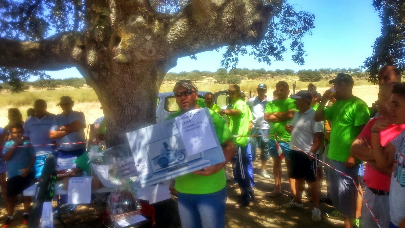 Jose Pedro Monte ganador del concurso de pesca de las Fiestas de Agosto
