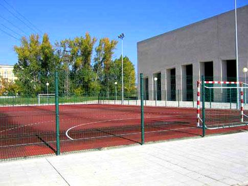 Nueva pista polideportiva en Valdencín