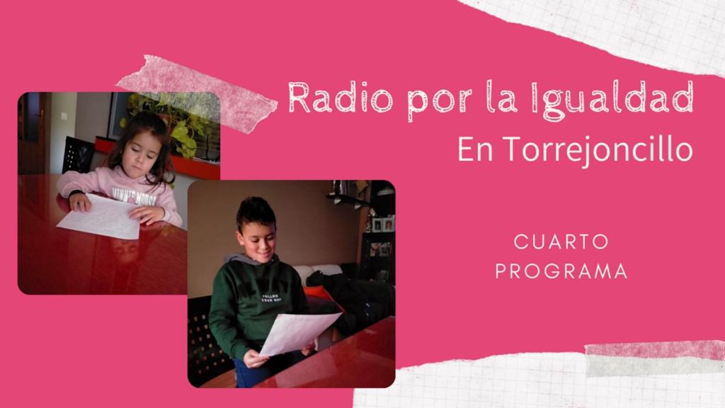 Se emite el cuarto programa de Radio por la Igualdad en Valdencín y Torrejoncillo