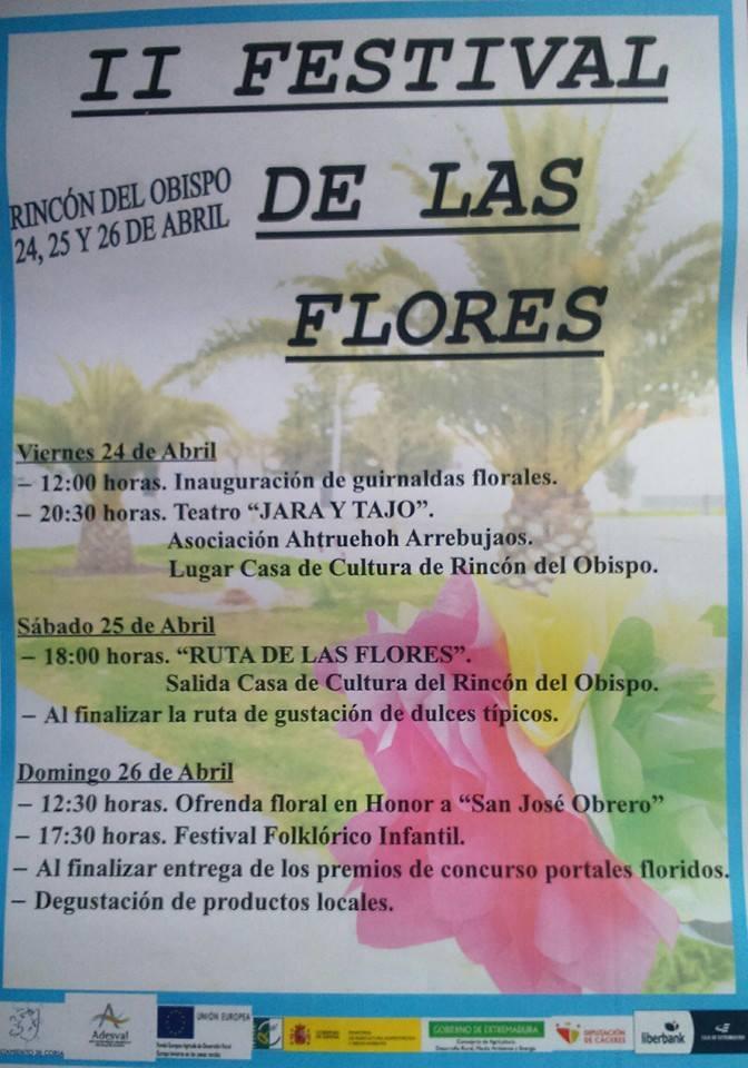 II Festival de las flores en el Rincón del obispo