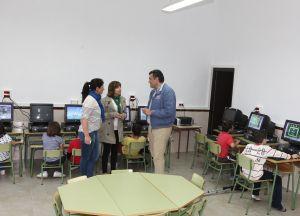 """El colegio """"San José Obrero"""" de Rincón del Obispo abre un aula nueva de informática"""
