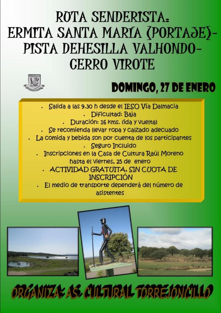 ruta cerro virote