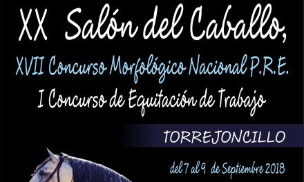 Programa del XX Salón del Caballo de Torrejoncillo