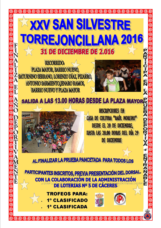 Ganadores San Silvestre Torrejoncillana 2016