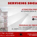 ATENCIÓN PRESENCIAL EN LOS SERVICIOS SOCIALES