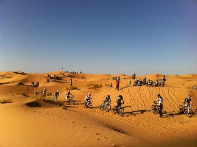 El colegio de Rincón del Obispo será la «llegada metafórica» de una etapa de la carrera ciclista 'Milenio Titan Desert'
