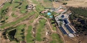 Vista aérea del Campo de Golf de Galisteo - CEDIDA