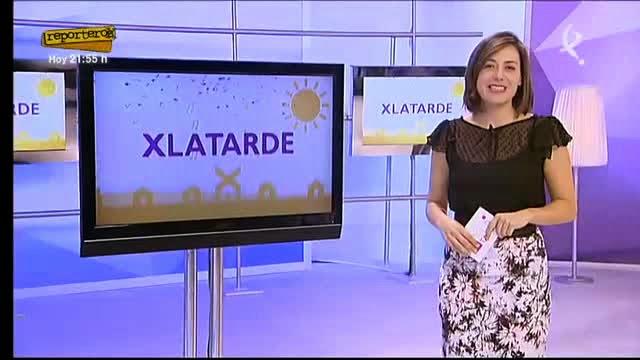 El programa «X LA TARDE» de Canal Extremadura, en Valdencín.