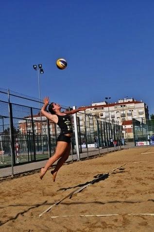 Sara Clemente disputa este fin de semana el Campeonato de España de Voley Playa