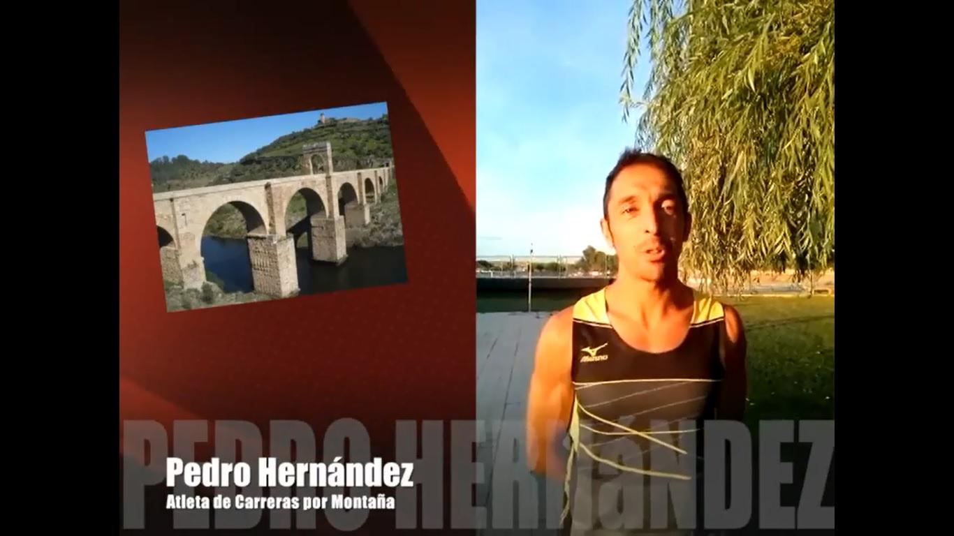 Pedro José Hernández apoyando al Puente de Alcántara